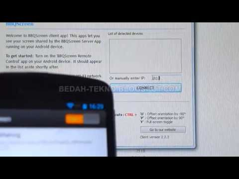 Cara Menampilkan Layar Hp Android ke Monitor PC