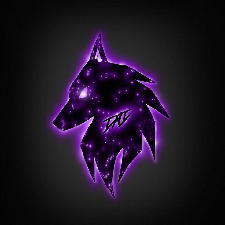 Cool Purple Wolves Wolf Logo By Dmd By Deejaydmd Bling SKS Pubg Pubg Scar