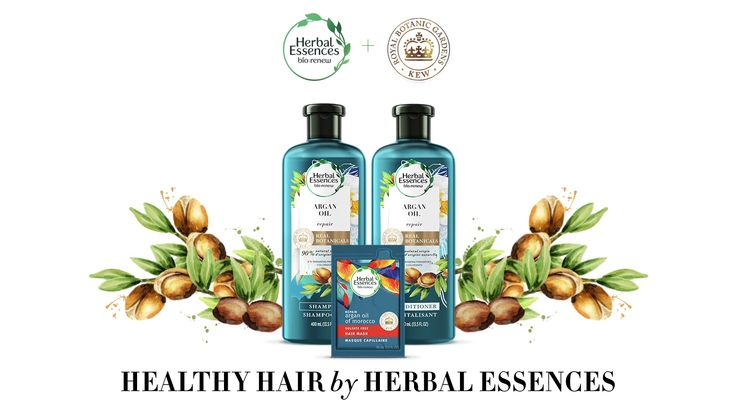 Repair your hair with Herbal Essences bio:renew Argan Oil shampoo. Our real botanicals are endorsed by Royal Botanic Gardens, Kew - a world-leading authority on plant science. This collection smooths and soothes hair from root to tip.