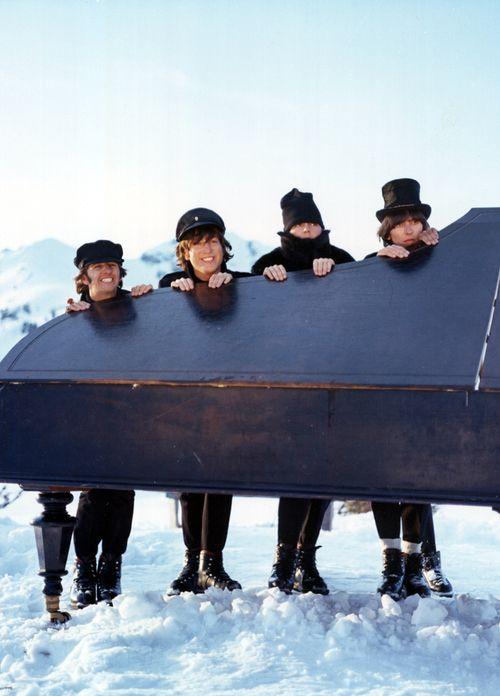 Richard Starkey, John Lennon, Paul McCartney, and George Harrison (in Help!)