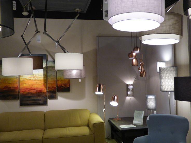 Landelijke Hanglampen Slaapkamer : Showroom winkel interieur ...
