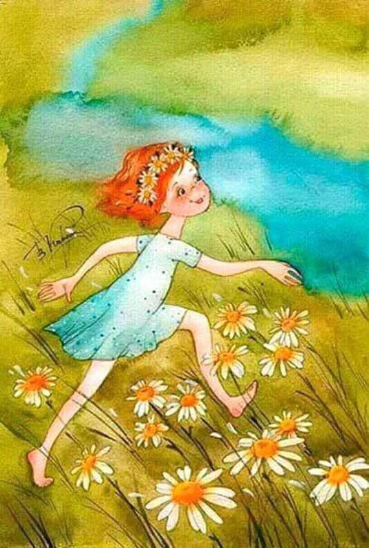 Я люблю лето в картинках для детей