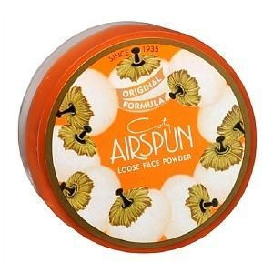 We've always been a fan of Coty Airspun Powder—it's a loose setting powder that's available in both translucent and colored versions. #facepowder #makeup