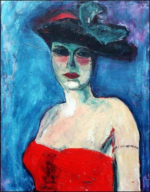 Kees van Dongen - Femme et Chapeau
