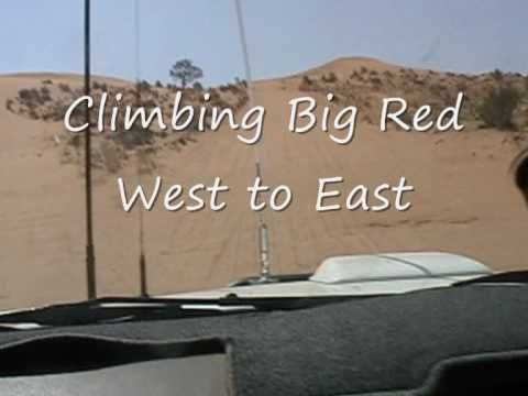 Big Red Simpson Desert Australia by Hilux - YouTube