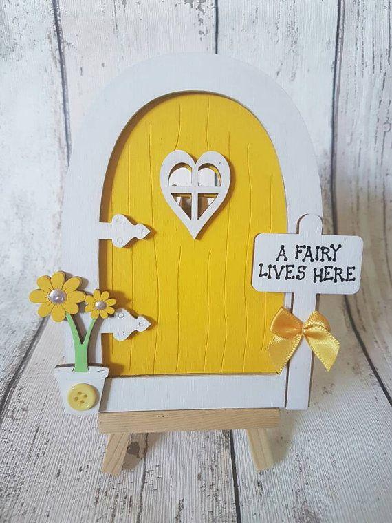 Fairy Door Kit by FingersnThumbsCraft on Etsy