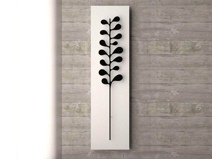 Wall-mounted towel warmer NATURE CAMELIA by K8 Radiatori