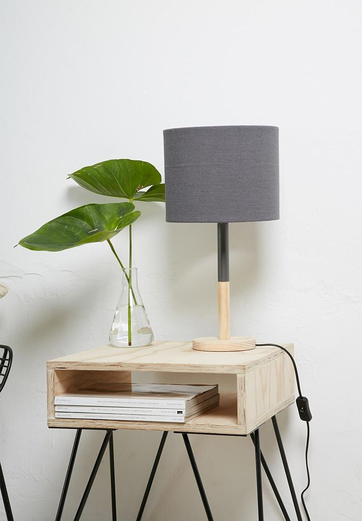 Element table lamp - charcoal Sixth Floor Lighting | Superbalist.com