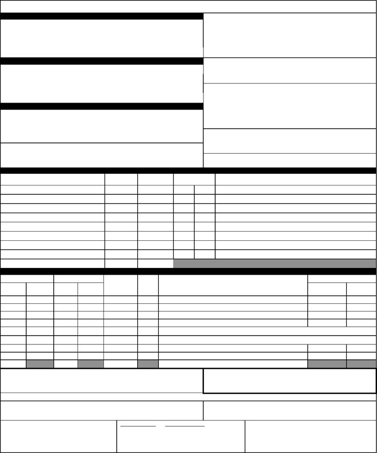 blank bill of lading form - Baruthotelpuntadiamante - Blank Bill Of Lading Template