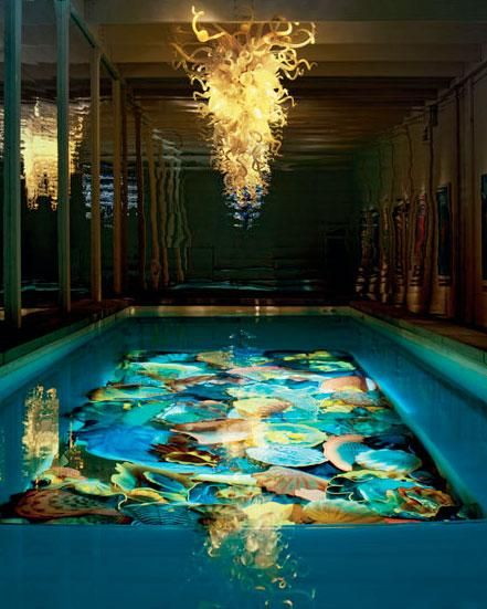 Neiman Marcus will sell you a $1.5 million Dale Chihuly swimming pool