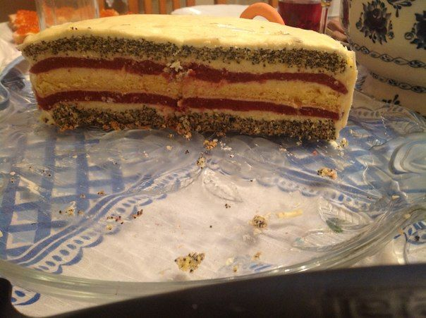 """Торт """"Клубничный поцелуй"""" - Кулинарное сообщество - Babyblog.ru"""