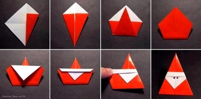 Origami Mikulás II.