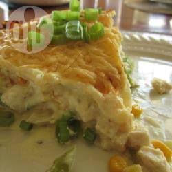Lasagna de pollo @ allrecipes.com.mx