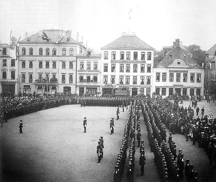 """Hanseatisches Infanterie-Regiment - Bremen - 1891 - Infanterie-Regiment """"Bremen"""" (1. Hanseatisches) Nr. 75 – Wikipedia"""