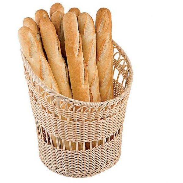 Paderno World Cuisine Round Bread Basket found on Polyvore