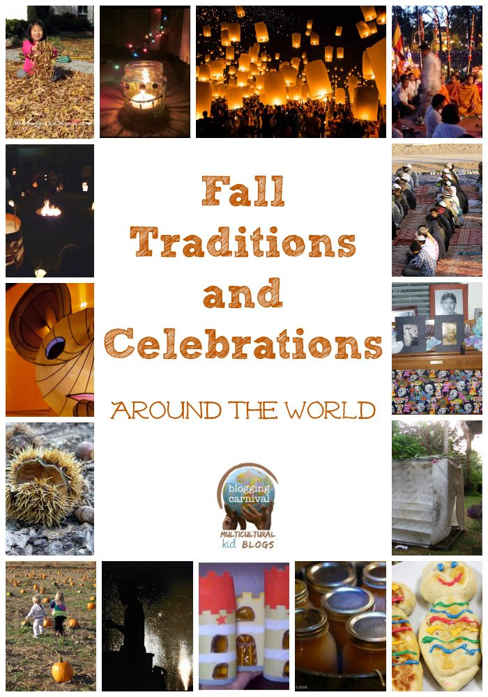 Fall Traditions and Celebrations Around the World shared for the Multicultural Kid Bloggers Carnival on InCulture Parent