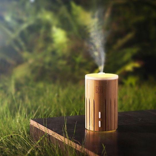 Arospa Bamboo Aromatherapy Ultrasonic Diffuser / Humidifier / Purifier
