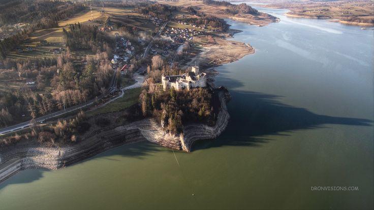 Zamek Dunajec w Niedzicy.