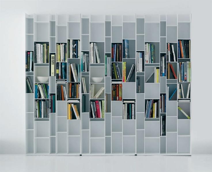 Mdf Italia Random Bookcase By Neuland