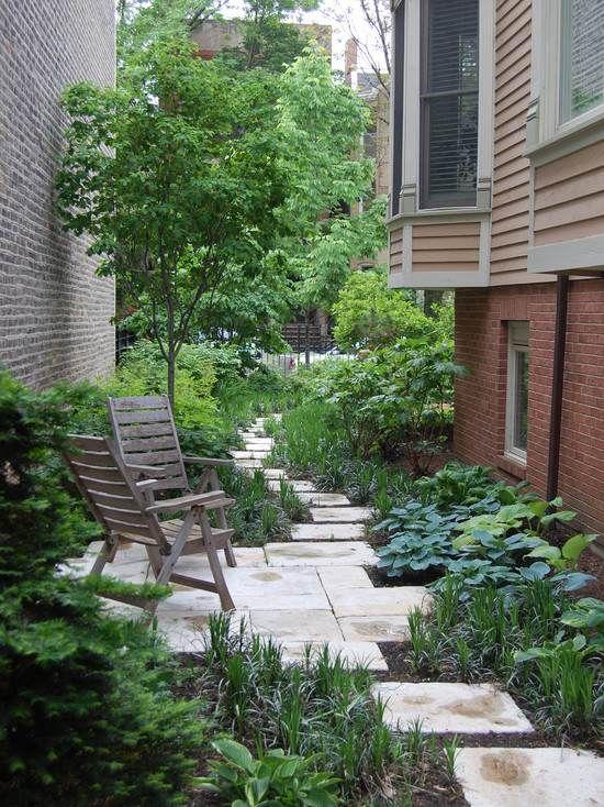 am nagement all e de jardin et chemin de pierre en 95 id es cour int rieure all es de jardin. Black Bedroom Furniture Sets. Home Design Ideas