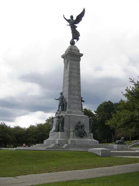 Statue d'Athéna Montreal Parc du Mount Royal