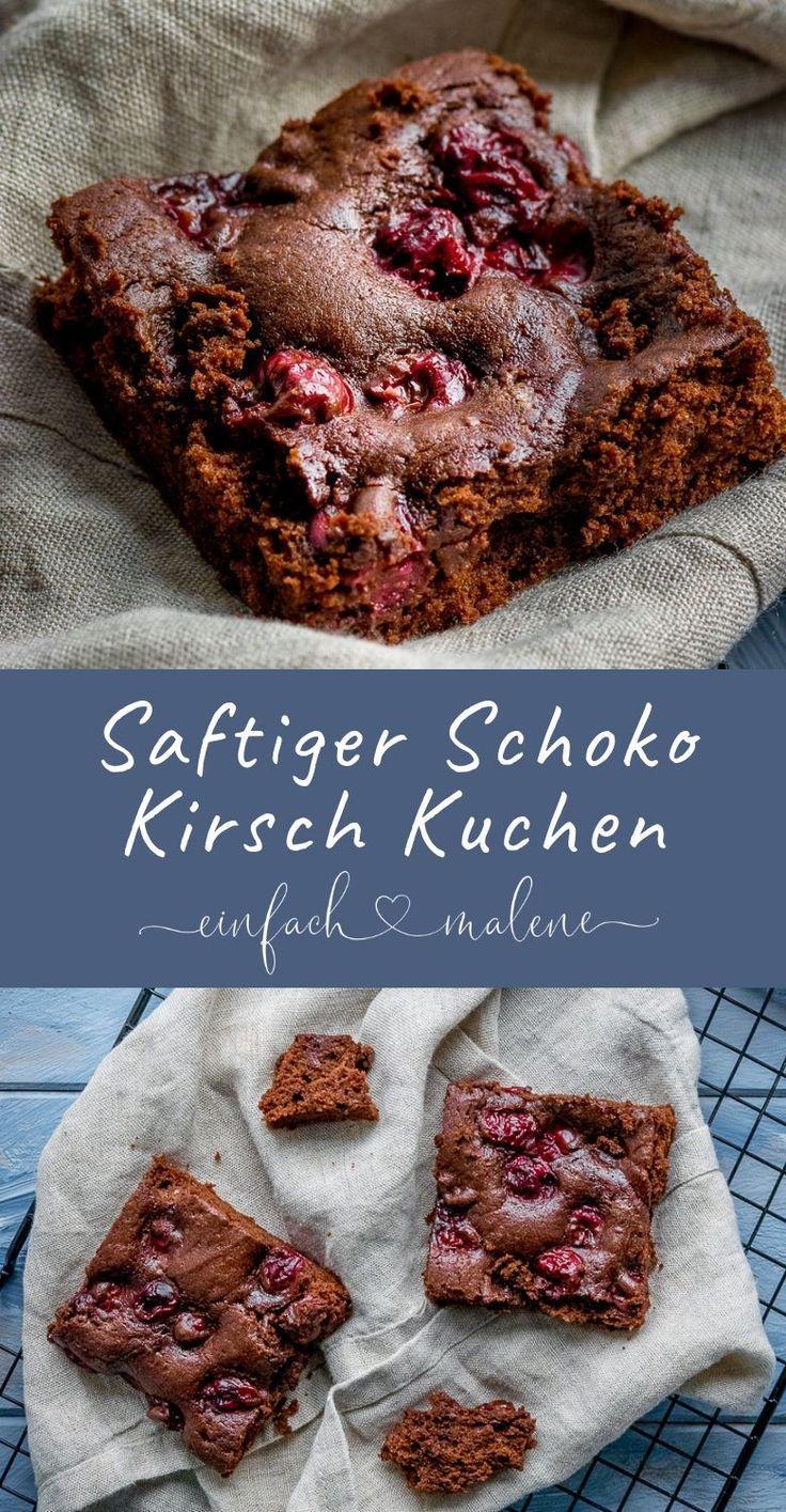 Großartiges Rezept für alle Schokoladen Fans! Dieser saftige Schokokuchen mit … – Die besten deutschen Foodblogs