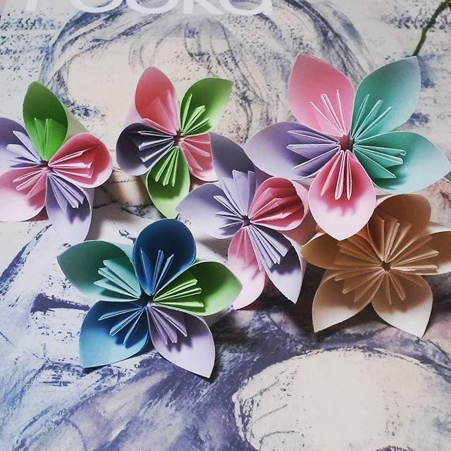 簡単 折り紙 : 折り紙 難しい 花 : jp.pinterest.com