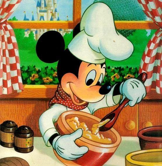 Resultado de imagen de minnie mouse cocinando