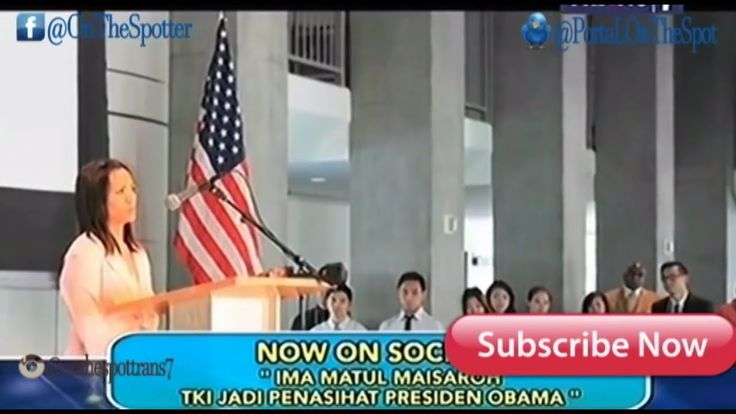 IMA MATUL MAISAROH TKI Jadi Penasihat Presiden Obama | Now on Socmed