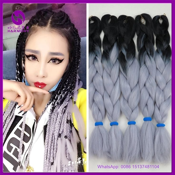 40 best ombr braiding hair extensions images on pinterest hair look what i found on aliexpress freeshipping synthetic ombre grey braiding hair for making crochet box braids grey color jumbo braiding pmusecretfo Image collections