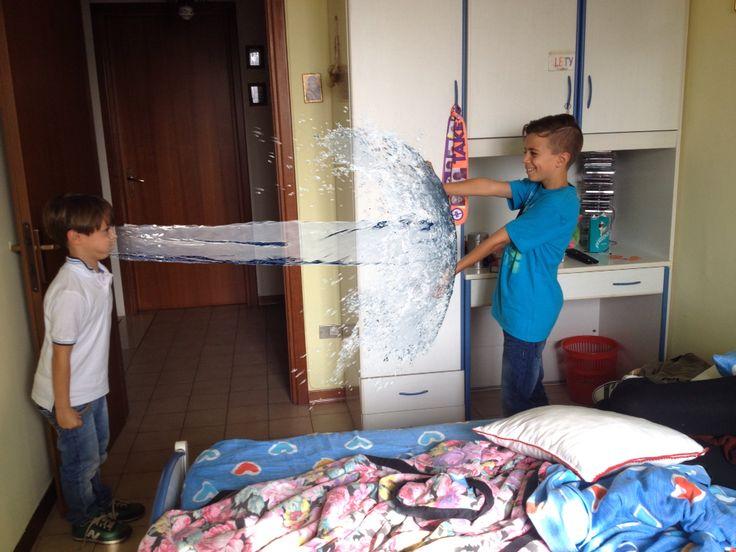.. Due nipoti stupidi..