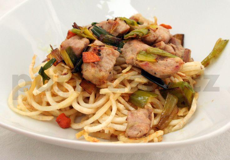 15-05-03 Zeleninové špagety :: Přirozeně bez lepku a bez mléka