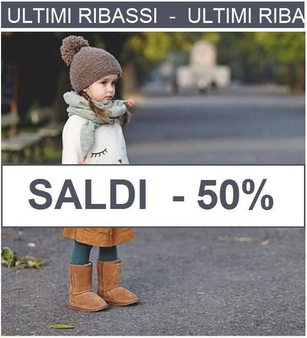 Ultima riduzione: tutto l'autunno-inverno a -50% SHOP ONLINE su www.cocochic.it