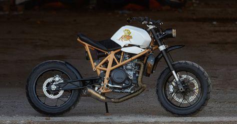Rear of the Year: KTM 690 'Daisy Duke' by Federal Moto http://www.bikeexif.com/custom-ktm-690-duke