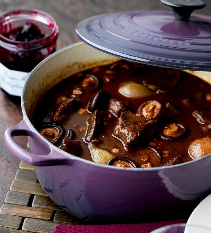 Slow-Cooked Venison Casserole - Le Creuset Recipes