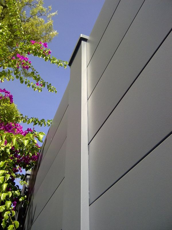 Modular Wall Systems  acoustic walls use the AcoustiSorb panel   for proven  noise reduction12 best Acoustic Fencing for Gardens images on Pinterest  . Exterior Soundproofing Panels. Home Design Ideas