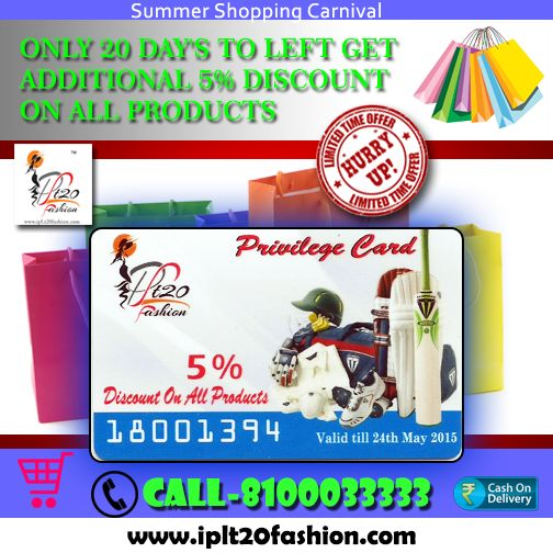 LAST FEW DAY'S 5% DISCOUNT ON ALL PRODUCTS