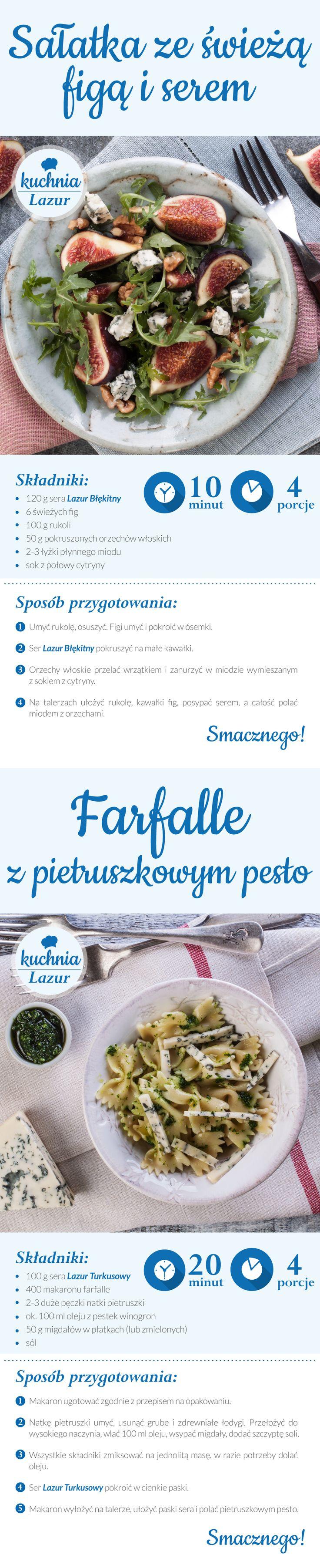 Projekt przepisów na Pinteresta dla firmy Lazur | www.pinkelephant.pl