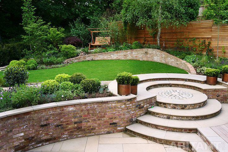 Двухъярусная садовая лестница