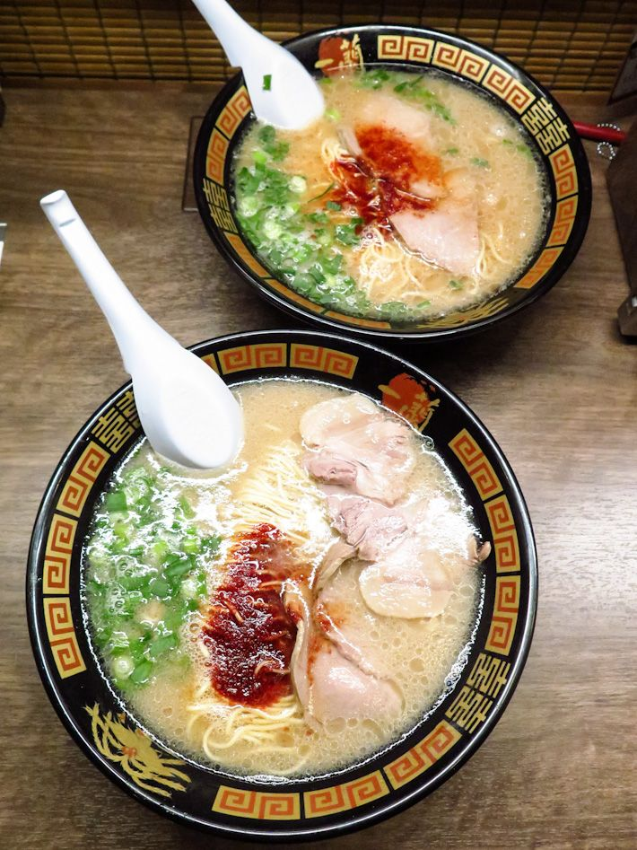 ICHIRAN RAMEN popular ramen chain in Japan, one of the best spots for tonkotsu ramen. Ichiran ramen super satisfying, and very affordable (¥780/S$10). The chashu is also spot-on The perfect bowl of ramen. Iwamoto Building B1F 1-22-7 Jinnan Sibuya-ku Tokyo Tel: +81 3 3463 3667 Daily: 24 hours Nearest Station: Shibuya Japan