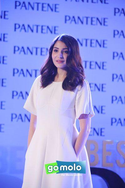 Anushka Sharma at the Launch of Pantene's new range in Mumbai