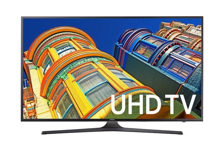 Samsung UN43KU6300 43-Inch 4K Ultra HD Smart LED TV (2016 Model)