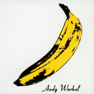"This was a given! The album cover for The Velvet Underground & Nico designed by Warhol is so iconic that people often refer to it as the ""Warhol LP"" or the ""Banana album"" #fruitart #iconic #popart"