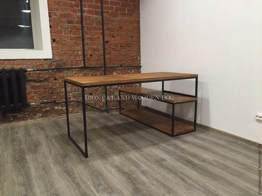Мебель ручной работы. Ярмарка Мастеров - ручная работа. Купить рабочий стол…