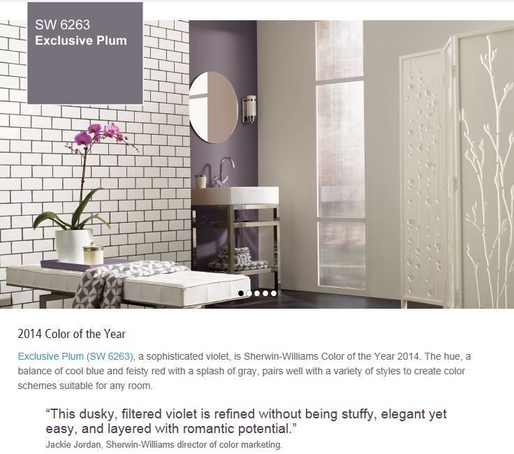 Bathroom Color Trends 2014 17 best 2014 color of the year images on pinterest | color of the