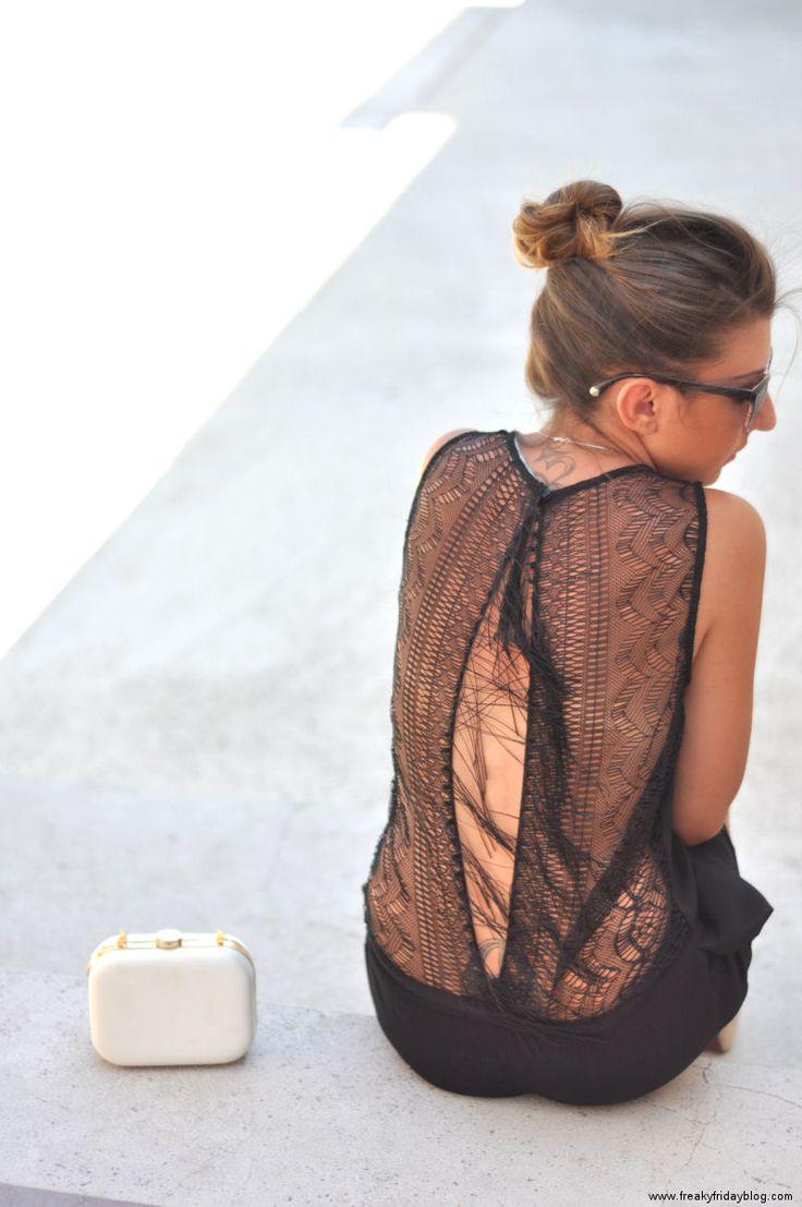 Lace Back - Freakyfridayblog - Freakyfridayblog