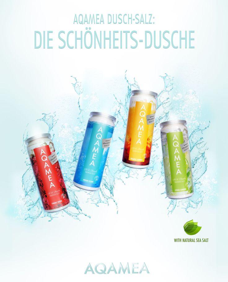 AQAMEA, Duschsalz, Duschpeeling, Peeling, Die Schönheits-Dusche, www.aqamea.de