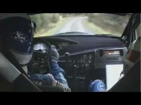 Great Britain's RAC Rally 2001 - Colin McRae On Full Attack!  Amazing Onboard (HD) Video
