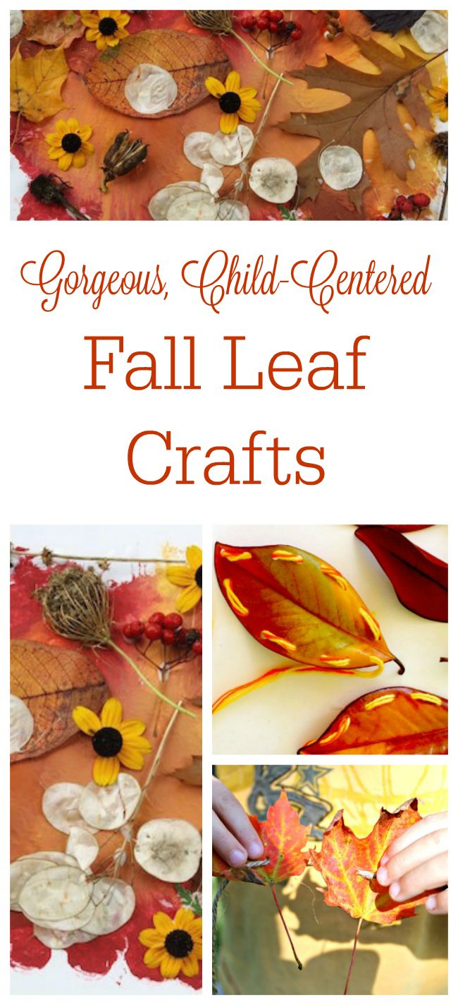 Fall crafts for adults to make - Gorgeous Fall Leaves Crafts