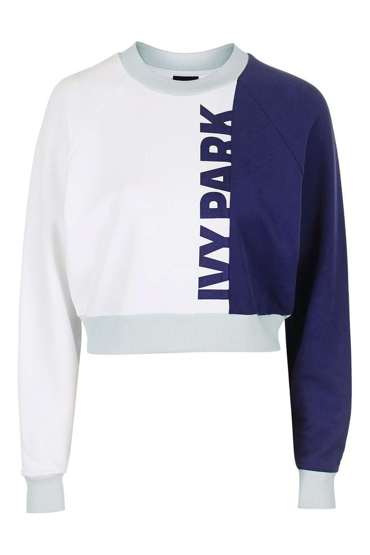 Colour Block Detailed Sweatshirt by Ivy Park - Ivy Park - Clothing - Topshop
